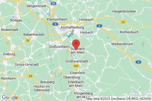 Karte Sulzbach am Main