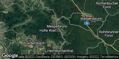 Google Map of Mespelbrunn