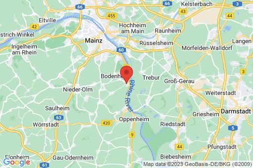 Karte Nackenheim