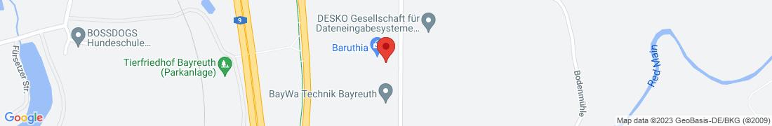 BayWa Technik Bayreuth Anfahrt