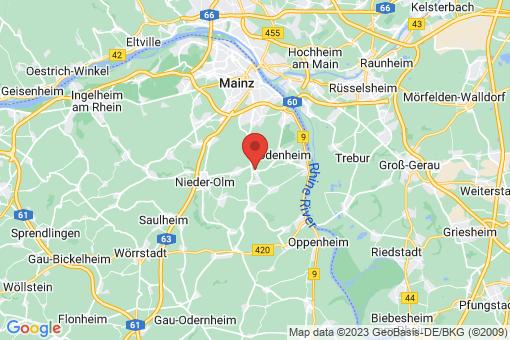Karte Gau-Bischofsheim