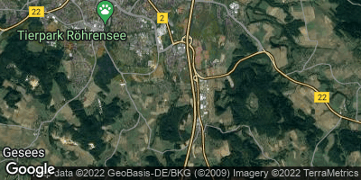 Google Map of Oberkonnersreuth