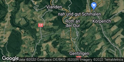 Google Map of Roth an der Our