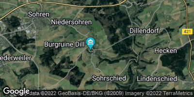 Google Map of Dill