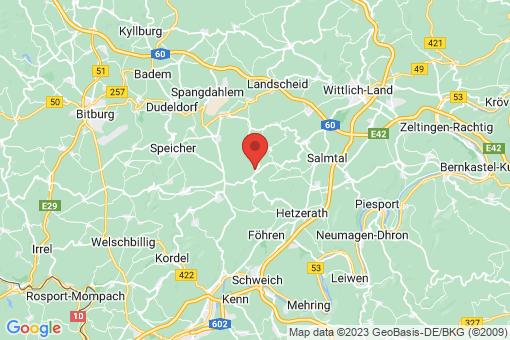 Karte Heidweiler
