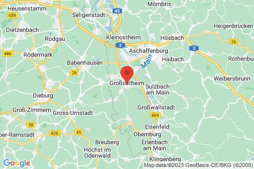 Karte Großostheim
