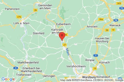 Karte Himmelstadt