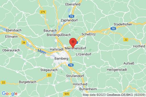 Karte Memmelsdorf