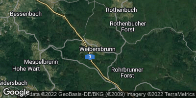 Google Map of Weibersbrunn