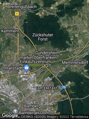Google Map of Gundelsheim
