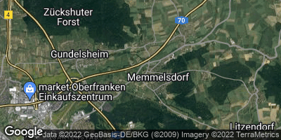 Google Map of Memmelsdorf