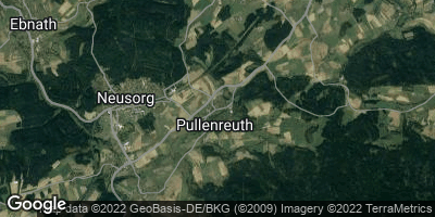 Google Map of Pullenreuth