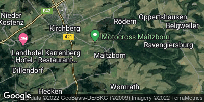 Google Map of Maitzborn