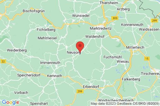 Karte Pullenreuth