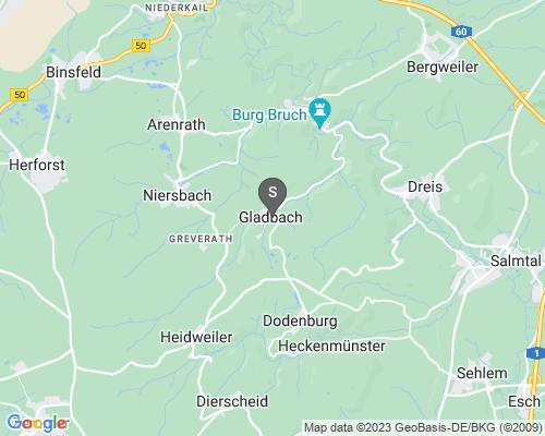 Google Karte von Schlüsseldienst Gladbach