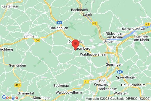 Karte Waldlaubersheim