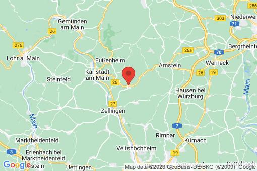 Karte Thüngen