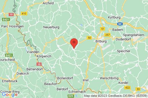 Karte Bettingen