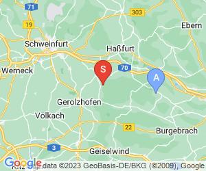 Karte für Steigerwald-Bogenparcours