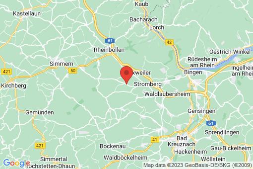 Karte Dörrebach