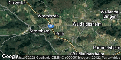 Google Map of Roth bei Stromberg