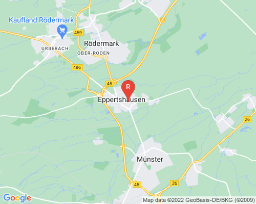 Google Karte von Rohrreinigung Eppertshausen