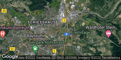Google Map of Sankt Georgen