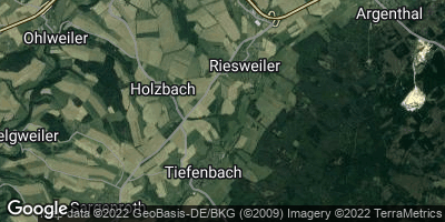 Google Map of Tiefenbach