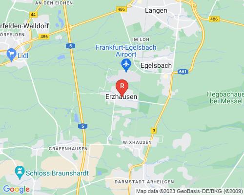Google Karte von Rohrreinigung Erzhausen