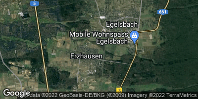 Google Map of Erzhausen