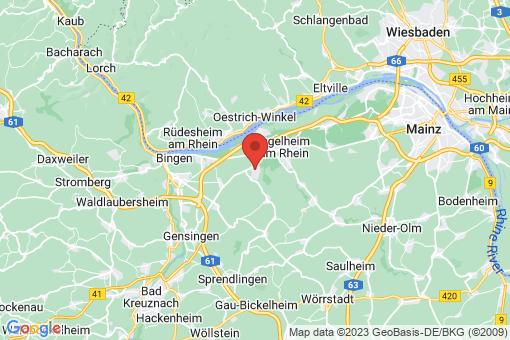 Karte Gau-Algesheim