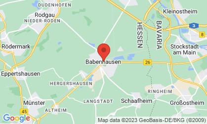 Arbeitsort: Babenhausen, Aschaffenburg Frankfurt am Main