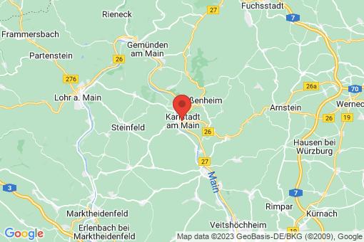 Karte Karlstadt