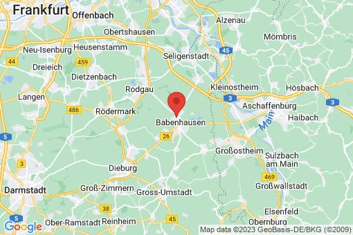 Karte Babenhausen