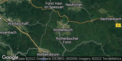 Google Map of Rothenbuch