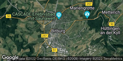 Google Map of Bitburg