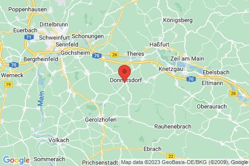 Karte Donnersdorf
