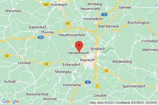 Karte Heinersreuth