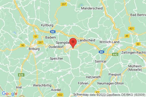 Karte Binsfeld