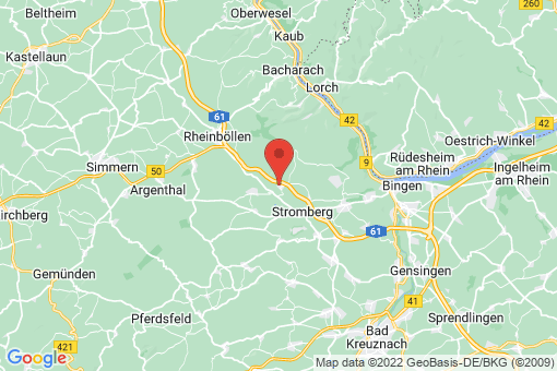 Karte Daxweiler