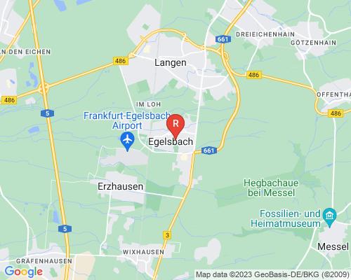 Google Karte von Rohrreinigung Egelsbach