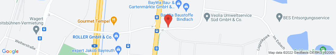 BayWa Baustoffe Bindlach Anfahrt