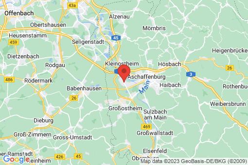 Karte Stockstadt am Main