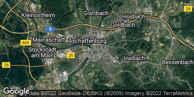 Google Map of Aschaffenburg
