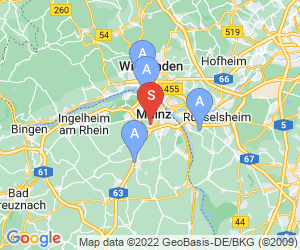 Karte für Sport Treff Mainz-Bretzenheim