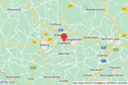 Karte Dudeldorf