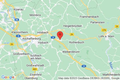 Karte Waldaschaff