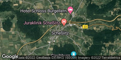 Google Map of Scheßlitz