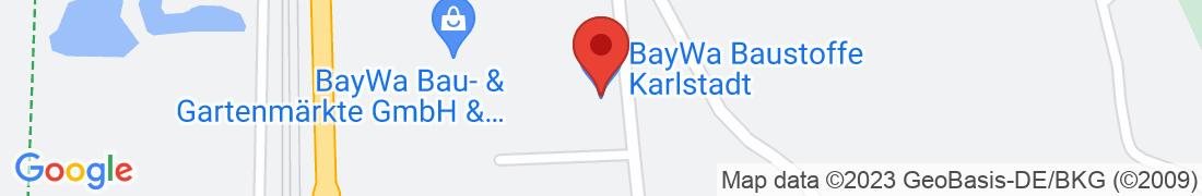 BayWa Baustoffe Karlstadt Anfahrt