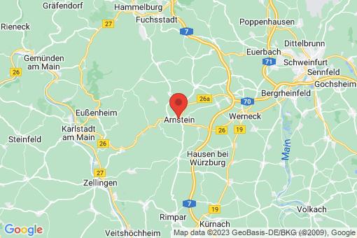 Karte Arnstein